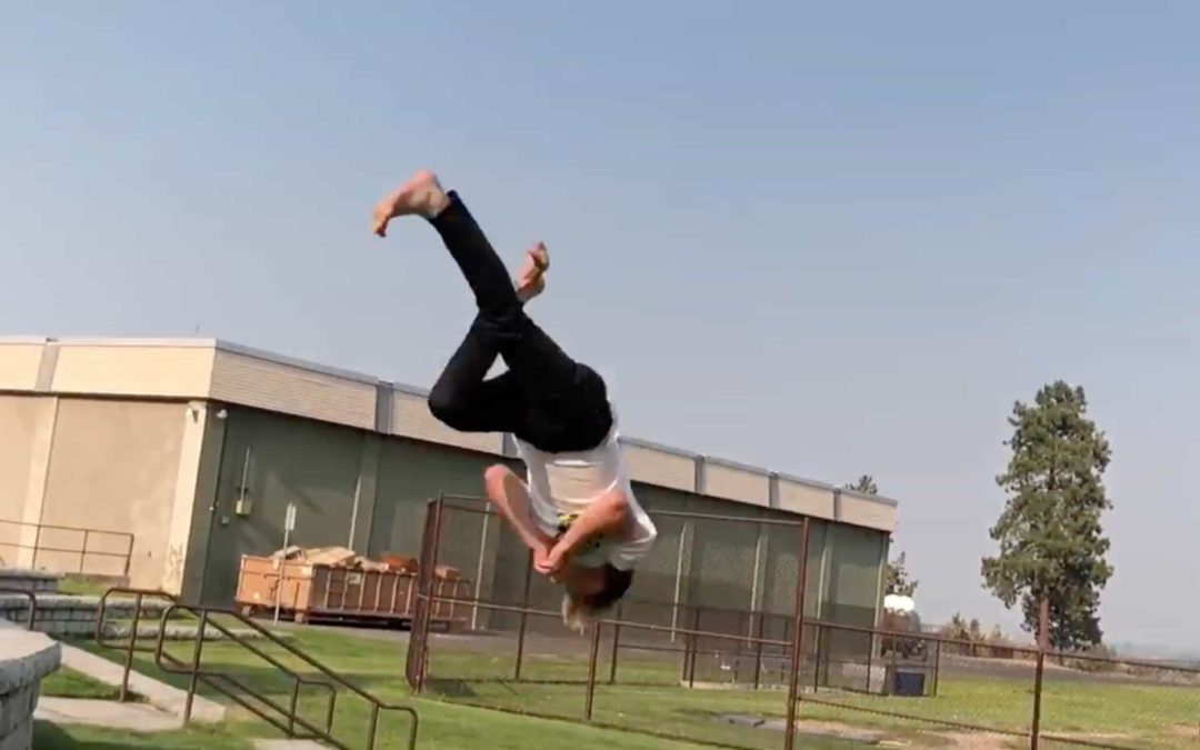 24 Kai Fleming – Professional Freerunner