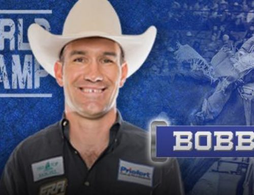 32 Bobby Mote – 4 Time World Champion Bareback Rider